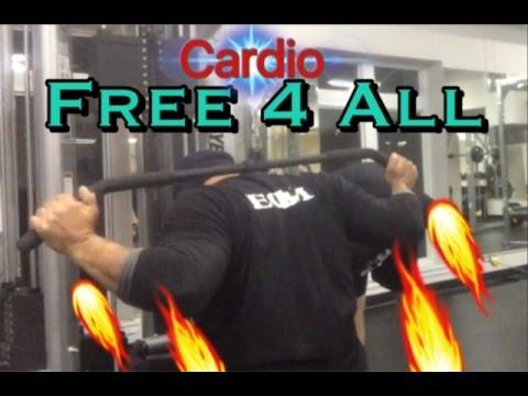 Free 4 All Gym Workout Smash it!