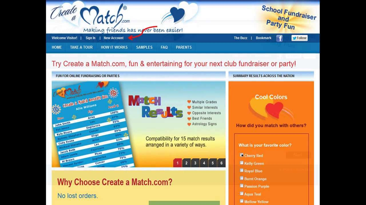 Student matchmaking fundraiser