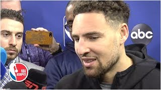 Klay Thompson on missing Game 3: It's not the end of the world, back for Game 4   2019 NBA Finals