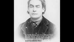Aristide Bruant - Sur la route de Louviers (avec paroles)