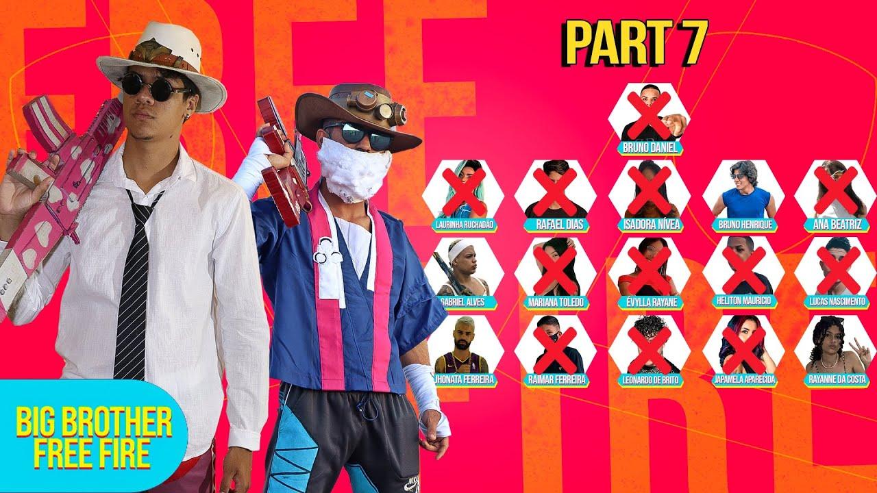 PAREDÃO FALSO?! ELES FORAM TROLADOS - BIG BROTHER FREE FIRE part 7