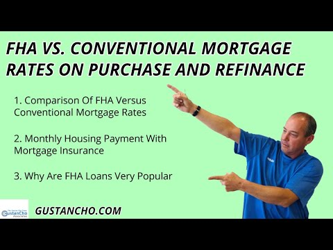 fha-versus-conventional-mortgage-rates-on-purchase-and-refinance