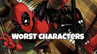 WORST CHARACTERS  🤔 | Marvel Future Fight