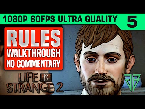 LIFE IS STRANGE 2 Episode 2 RULES Gameplay Walkthrough Part 5 No Commentary PC thumbnail