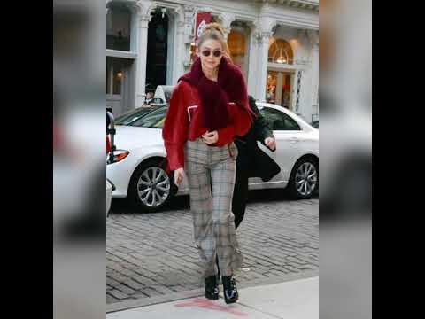 Gigi Hadid Trendy Fashion/Style 2019