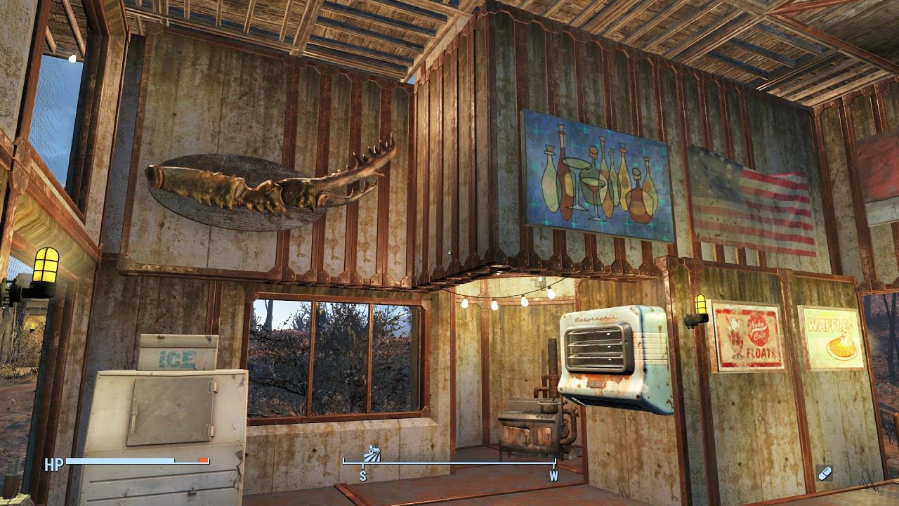 fallout 4 tenpines bluff small modern house settlement build