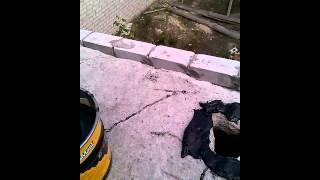 дыры в бетонных плитах битумная мастика(, 2015-06-03T18:35:14.000Z)