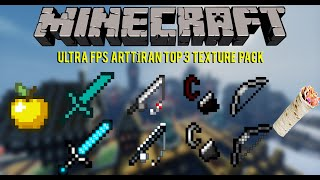 Minecraft: Ultra FPS Arttıran Best  Top 3 PvP Texture Pack 2016 ! # Bölüm 3 #