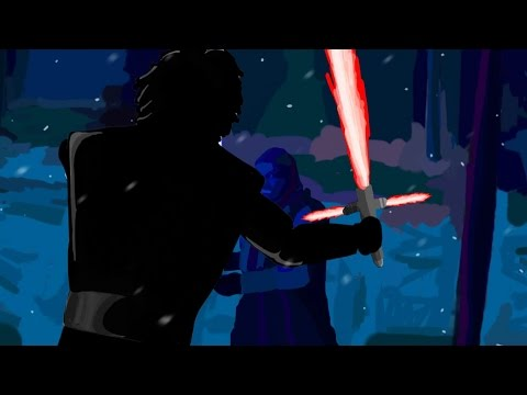 The Entire 'Star Wars' Trailer Has Been Recreated In Snapchat Art