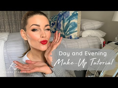 Day and Evening Makeup Tutorial | Rolene Strauss thumbnail