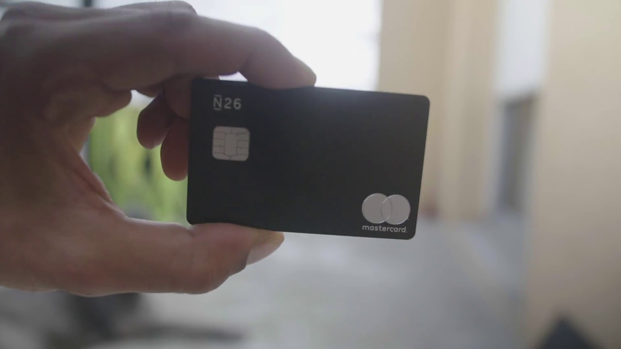 Carte N26 Metal.Unboxing De La Carte De Credit Black Metal N26 Et Quelques Explications