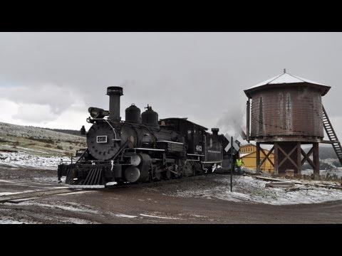 D&RGW K-27 463 Steams Again - Mudhen Over Cumbres