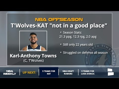 Karl-Anthony Towns Rumors: 5 NBA Teams That Could Trade For Him in 2018