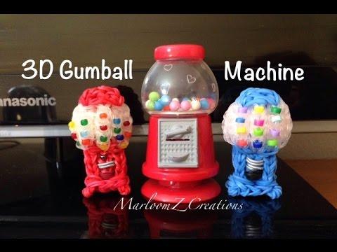 rainbow loom gumball machine