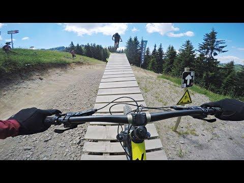 Les Gets Bike Park - Le Pleney MTB 2018