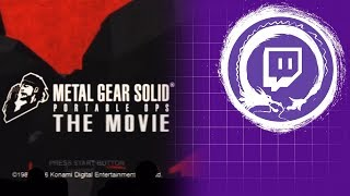 METAL GEAR SOLID Portable Ops The Movie | Metal Gear Saga Part 28 | Stream Four Star