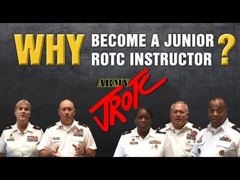 Why Become An Army Junior ROTC Instructor