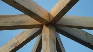 Как построить беседку своими руками(Беседка своими руками. Посмотрите как самостоятельно сделать деревянную беседку своими руками. http://peta4ok.3dn.r..., 2014-08-17T11:20:34.000Z)