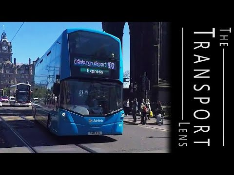 Lothian Buses in Edinburgh Buses, May 2017 - Part 1