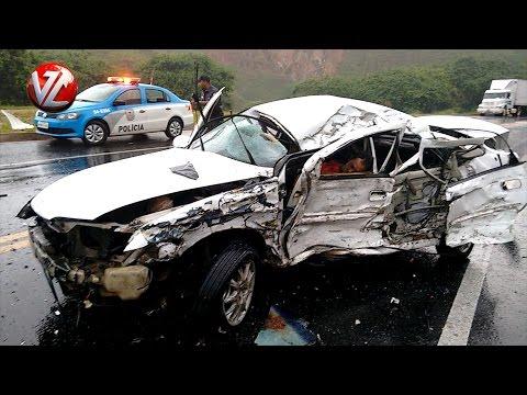 Acidente deixa dois feridos em Barra do Piraí