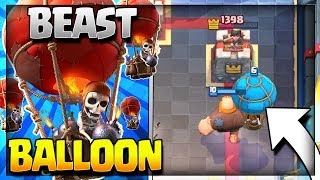 BEAST GIANT BALLOON DECK w/ No Legendary Cards! :: Arena 7 to Arena 11 :: Clash Royale Strategy