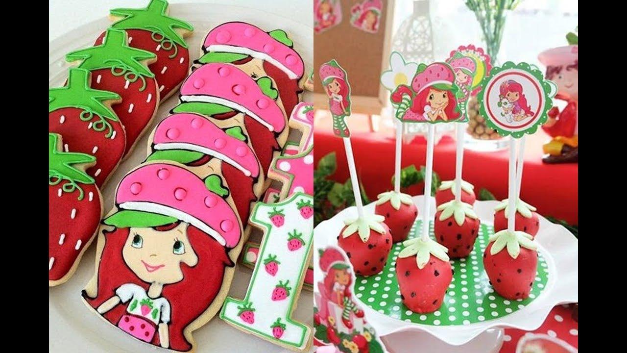 Ideas Para Decorar Una Fiesta De Rosita Fresita How To Decorate A Party Of Strawberry Shortcake