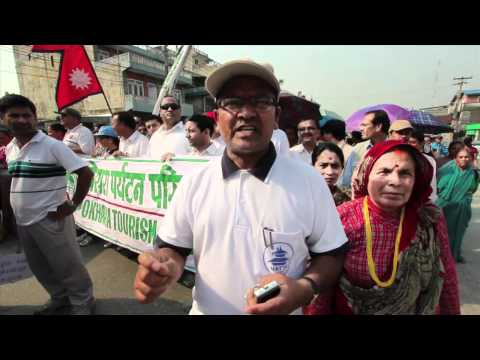 Thousands Demonstrate in Nepal Against Maoist Demands for Provinces Based on Ethnicity