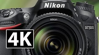 Nikon D7300 w 4K & Touch Screen Vari-Angle LCD in March 2017