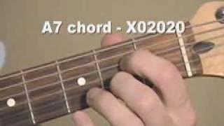 guitar chord videos a7