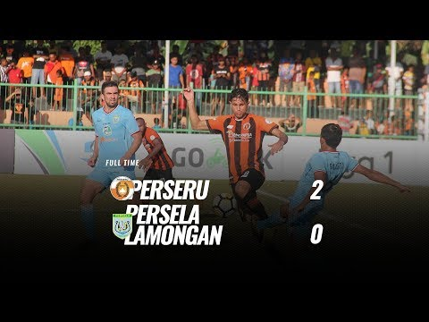 [Pekan 25] Cuplikan Pertandingan Perseru vs Persela Lamongan, 13 Oktober 2018