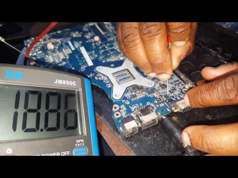 How to check dead laptop motherboard step by step