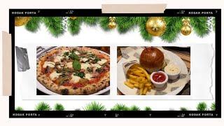 Смотреть видео Кушаем лучшую пиццу и бургеры в Москве 👌🏽😍 с друзьями из Сахалина и Баку 🤩 онлайн
