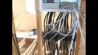 Быстрая замена электропроводки в деревянном доме(Показан результат выполнения работ по монтажу электричества. Заказать профессиональные услуги можно в..., 2015-01-05T18:48:31.000Z)