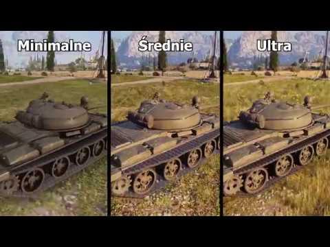 World of Tanks 1.0 - Nowy silnik graficzny enCore porównanie grafiki.