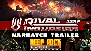 Deep Rock Galactic - Season 01 - Narrated Trailer