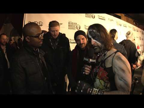 CANDIRIA Interview, Revolver Music Awards 2016 Black Carpet | MetalSucks