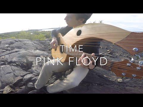 Time - Pink Floyd - (Harp Guitar/Electric) Instrumental Cover - Jamie Dupuis