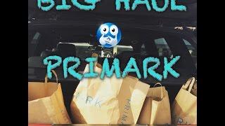 BIG Haul :ma première fois chez  PRIMARK!!!