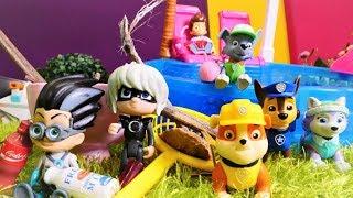Romeo und Luna Girl - Streich für den Paw Patrol - Spielzeugvideo