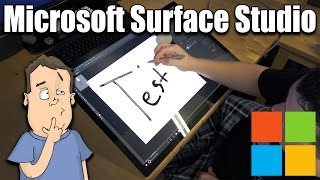 I conduct a full review of the Microsoft Surface Studio to try and ...