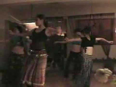 Tribal fusion belly dance in Taiwan