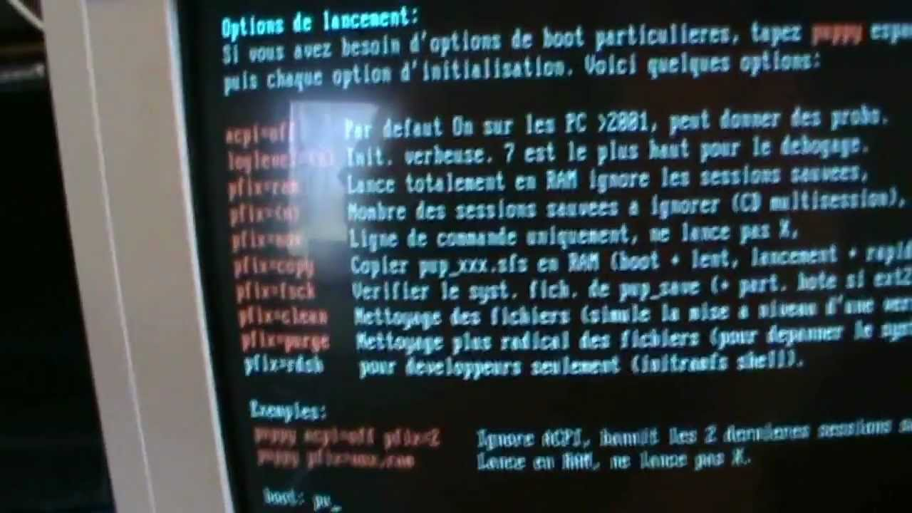 Installing linux on the old forgotten computer