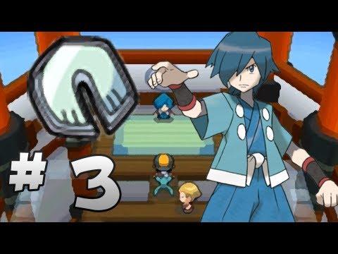 Let's Play Pokemon: HeartGold - Part 3 - Violet Gym Leader Falkner