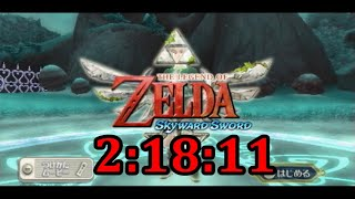 Skyward Sword Any% Speedrun in 2:18:11