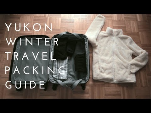 What To Pack For Winter In Yukon, Canada (Clothing)
