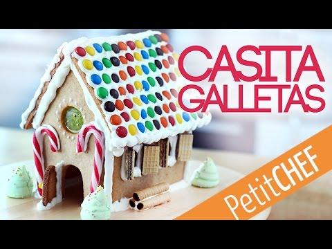 Casa de galletas jengibre para navidad Petitchef YouTube