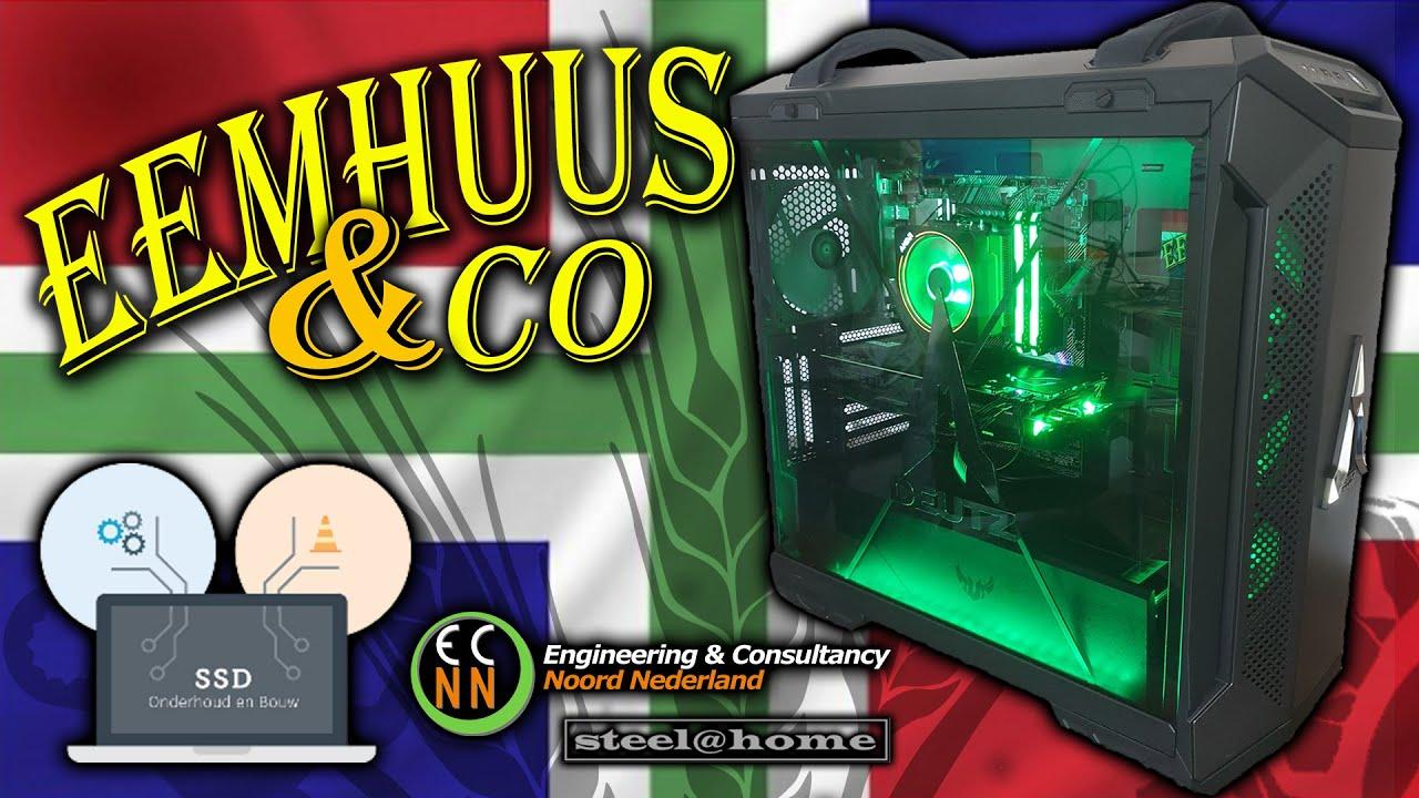 Eemhuus vlog | The Legend 06 PC met  SSD onderhoud en bouw!