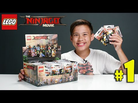 LEGO NINJAGO MOVIE MINIFIGURES!!! Lets Open Some Blind Bags! PART 1