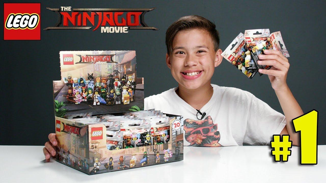 LEGO NINJAGO MOVIE MINIFIGURES!!! Let's Open Some Blind ...
