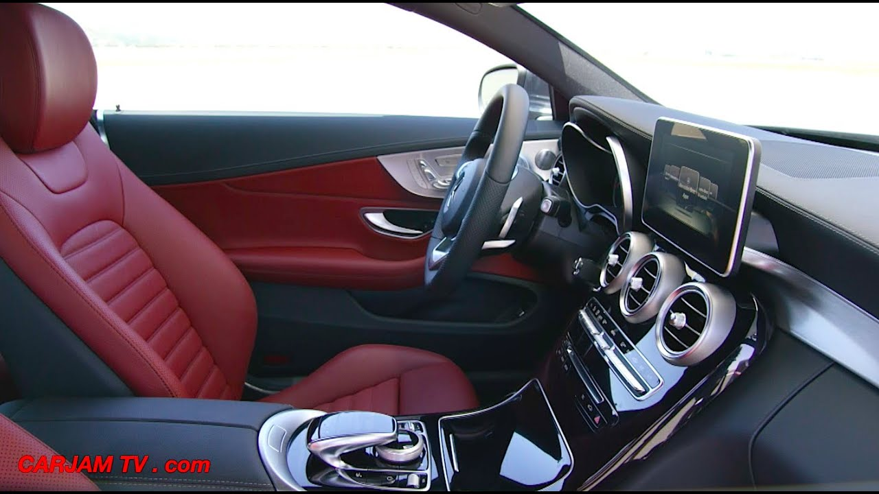 Mercedes C Class Coupe 2016 Interior Review Engine Start Driving